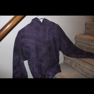 zumiez purple tye dye hoodie jacket coat